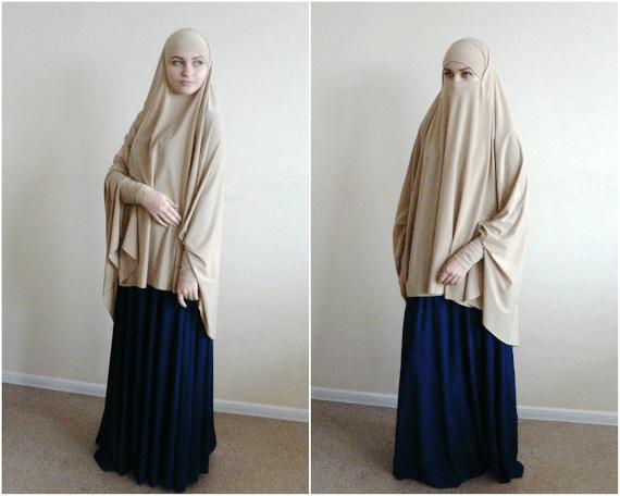 Khimar Adalah Kain Penutup Aurat Yang Syari I Lara Hijab