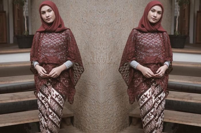 Model Hijab Untuk Kebaya Modern Lara Hijab